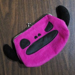Loungefly Pink Monster Clutch